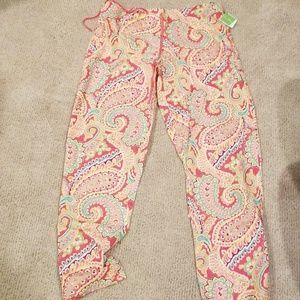 Vera Bradley Pajama Pants in Capri Melon